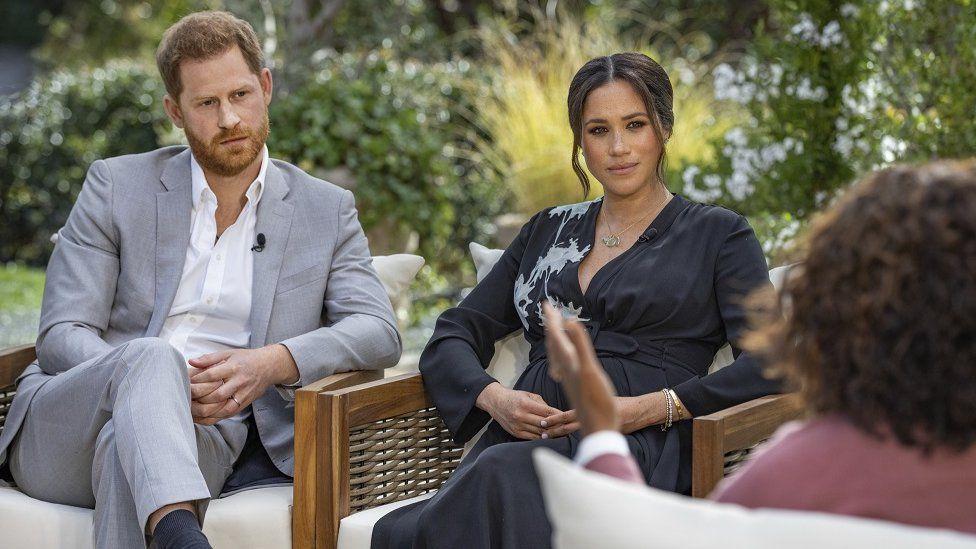 Harry en Meghan interview bij Oprah