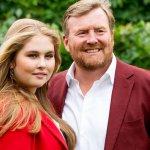 Amalia en Willem-Alexander