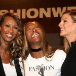 Iman, Naomi en Linda